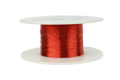 Magnet Wire 32 AWG Gauge Enameled Copper 2oz 155C 611ft Magnetic Coil Winding