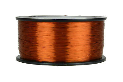 TEMCo Magnet Wire 32 AWG Gauge Enameled Copper 1.5lb 7332ft 200C Coil Winding