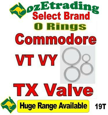 O rings suit Commodore VT  VX VY  TX valve specials air conditioning 19T