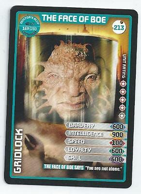 Dr Who Card - Monster Invasion Extreme - 213 - The Face Of Boe - (Common)