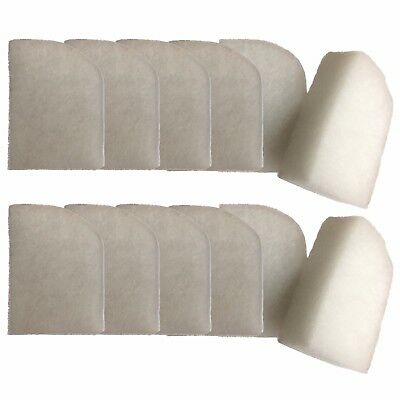 12 Compatible Polishing Filter Pads Suitable For Fluval 304 305 306 404 405 406