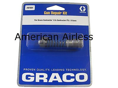 Graco Gun Repair Kit 287031 for Graco Contractor II and Contractor FTx II guns