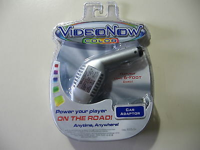 Video Now Color Car Adaptor w/6 foot cord, Brand New and Sealed