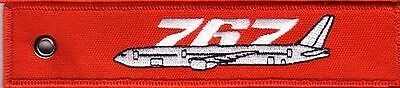 Boeing 767 Remove Before Flight Red Keychain - Key006