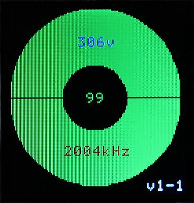 Module Frequencemetre - Voltmetre - Oeil Indicateur D' Accord Tuning  Indicator