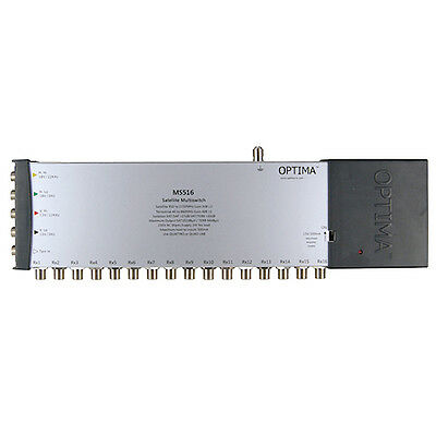 Optima MS516 5 x 16 IRS Satellite Multiswitch