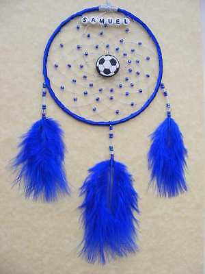 FOOTBALL Personalised Dreamcatcher Boys or Girls Bedroom Soccer Birthday Gift