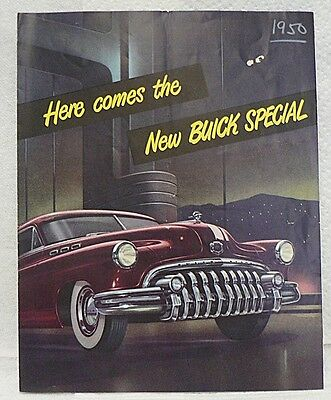Buick Special For 1950 Brochure