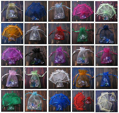 Top Sell Quality Wedding Decorating Organza Jewellery Candy Gift Bag Pouch in