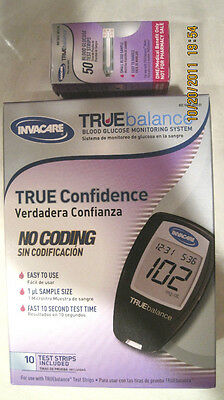 TrueBalance Test Strips 50 Count Plus FREE Monitoring System Kit by Nipro