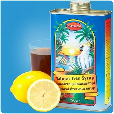Madal Bal Natural Tree Maple Syrup Lemon Detox Diet 1 LT