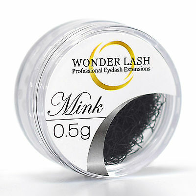 WonderLash Individual Eyelash Extensions Mink Semi Permanent Loose Eye Lashes