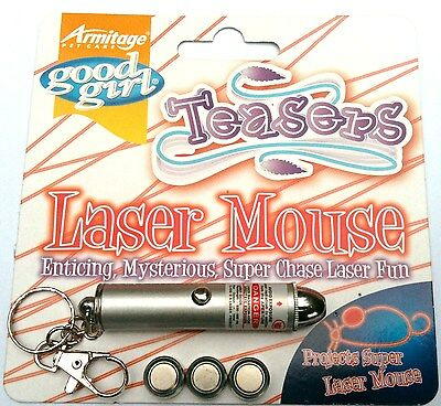 Armitage, LASER PEN CAT TEASER, PROJECTS A SUPER LASER MOUSE, BATTERIES INCLUDED