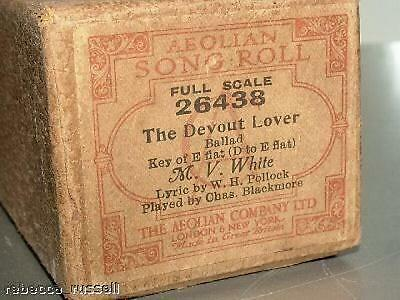 Pianola 26438 The Devout Lover Ballad M V White