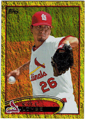 2012 Topps Series 1 Gold Sparkle Parallel #26 Kyle Lohse CARDINALS