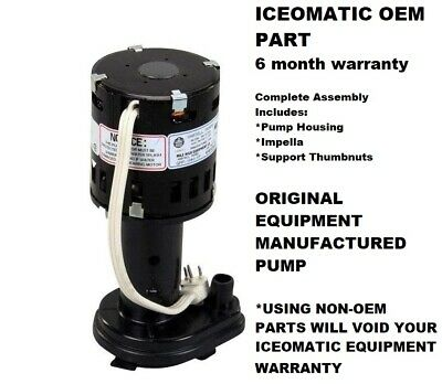 HARTELL 803339 GPP-1MH-2P ICE MACHINE PUMP REPLACES ICE-O-MATIC 9161076-02