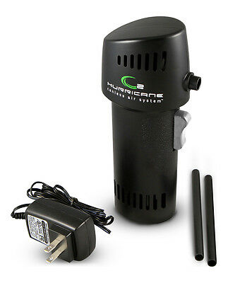 Canless Air Systems O2 Hurricane Industrial 220+ MPH for over 15 minutes! Black!