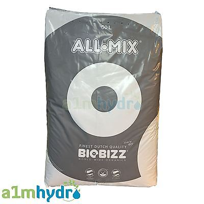 Biobizz All Mix 50 Litre 50L Soil Bag Organic Growing Media Hydroponics