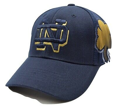 University Of Notre Dame Fighting Irish - Tow Deja Vu Flex Fit Ncaa Cap/hat-L/xl