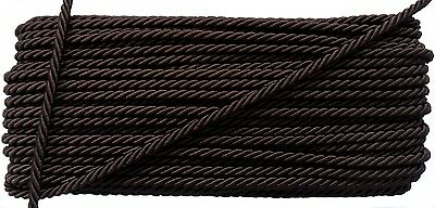 Brown Twist Cord Rope Bedding Jewelry Supplies Knot Twine Piping Embellishments