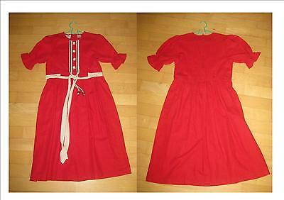 Super  Kinder Dsar Trachtenkleid in rot Gr.146 TOP