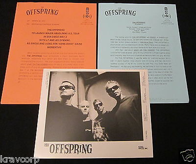 The Offspring 'Ixnay On The Hombre' 1997 Press Kit—Photo