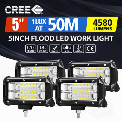 """210W 20inch Cree LED Light Bar Flood Spot Combo Work Driving Lamp Offroad 20/23"""""""