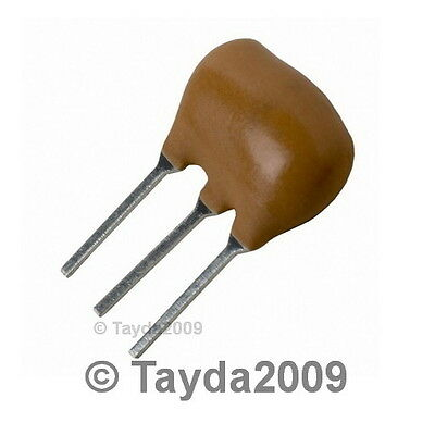 5 x CERAMIC RESONATOR 16.0MHz 16.000 MHz 3-PINS - Free Shipping