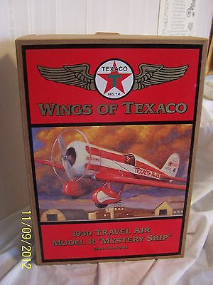 WINGS OF TEXACO's 1930 TRAVEL AIR MODEL R ''MYSTERY SHIP'' 5th In The Series