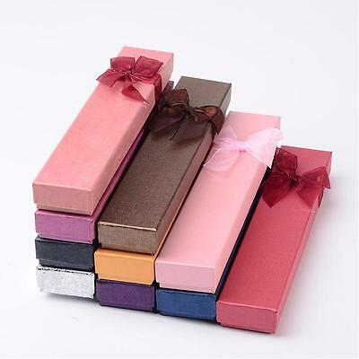 1 x Long Bracelet/Necklace Gift Box - Choose Colour
