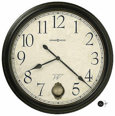 "Howard Miller - 625444 Gallery 36"" Wall Clock-Glenwood Falls 625-444  (625444)"
