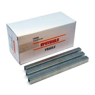 10,000 x 71 Series Galvanized Steel Staples for ME3G/71 Tacker 8, 10 & 12mm