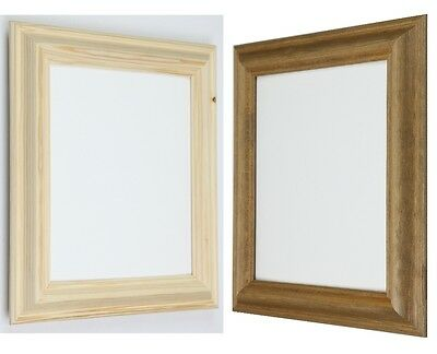 New Solid Wooden Picture Photo Frames to Stand and Wall Hanging in All Sizes.