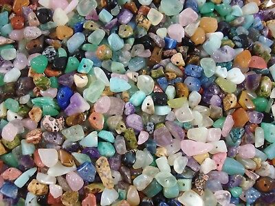 Gemstone Chips 50g Mix Pack Jewellery DIY Necklace Spacer Jewelry FREE POSTAGE