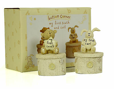 Button Corner Baby Teddy Tooth and Curl Set CG752