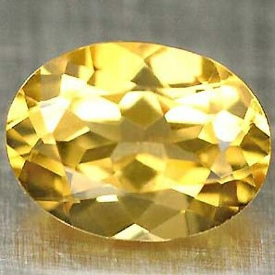 CITRIN 10x8 OVAL (VS) GOLD-GELB! 3,5Ct!!!
