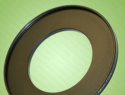 49mm to 77mm 49-77 49-77mm 49mm-77mm Stepping Step Up Filter Ring Adapter