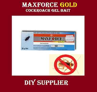 MAXFORCE GOLD Cockroach Bait Gel insecticide Commercial - stronger than advion
