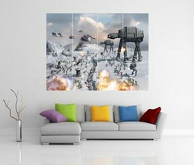 Lego Star Wars  Giant XL Section Wall Art Poster VG145
