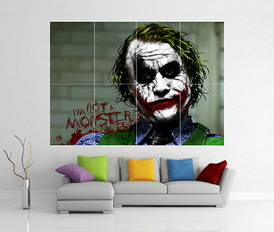 The Dark Knight Joker Batman Giant Wall Art Picture Print Poster G33
