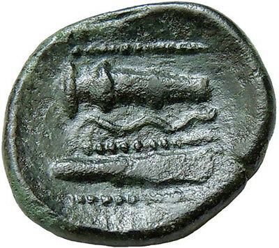 Celtic Imitation of Alexander III The Great AE19 mm Ancient Bronze Coin