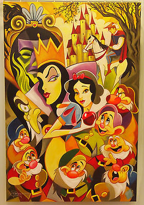 Disney Tim Rogerson The Enchantment of Snow White Giclee Print Evil Queen Hag
