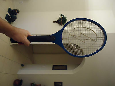Rechargeable Mosquito-Hitting Swatter, Blue