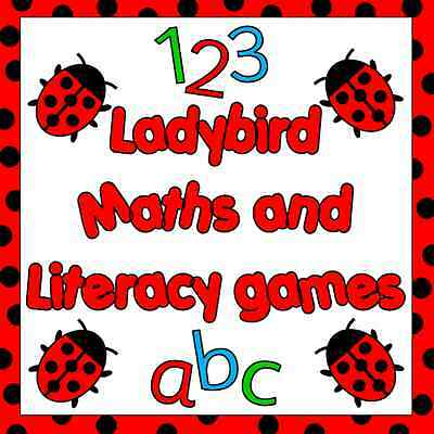 Ladybird Maths and literacy games on Cd- phonics, numeracy, letters and sounds