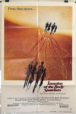 Invasion Of The Body Snatchers -Donald Sutherland- Original Us 1Sht Movie Poster