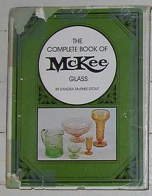 Sandra McPhee Stout, Complete Book of McKee Glass, 1972 Reference book.