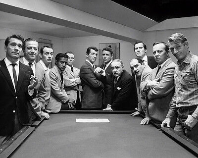 The Rat Pack  Ocean's Eleven  Dean Martin Frank Sinatra  8 x 10 Photo Picture p1