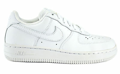 e06f10129bc Nike Air Force 1 (Ps) White Preschool Kids Sneakers Shoes Leather 314193-117