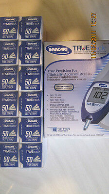 TRUEtrack Blood Glucose (600) Test Strips FREE METER KIT