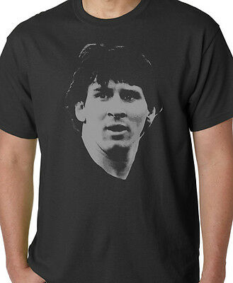 Lionel Messi Mens Football Legend Argentina T-Shirt World Cup Retro Top Gift Tee